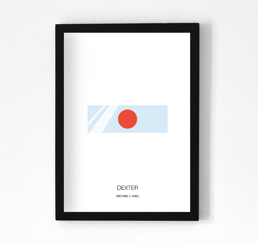 Minimalist house photos - Tv Series Minimalist Posters Francisco Malvar Santos Design