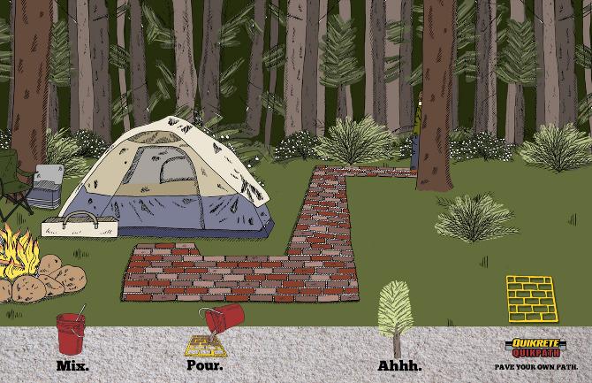 Quickcrete walkmaker home design idea for Walk maker ideas